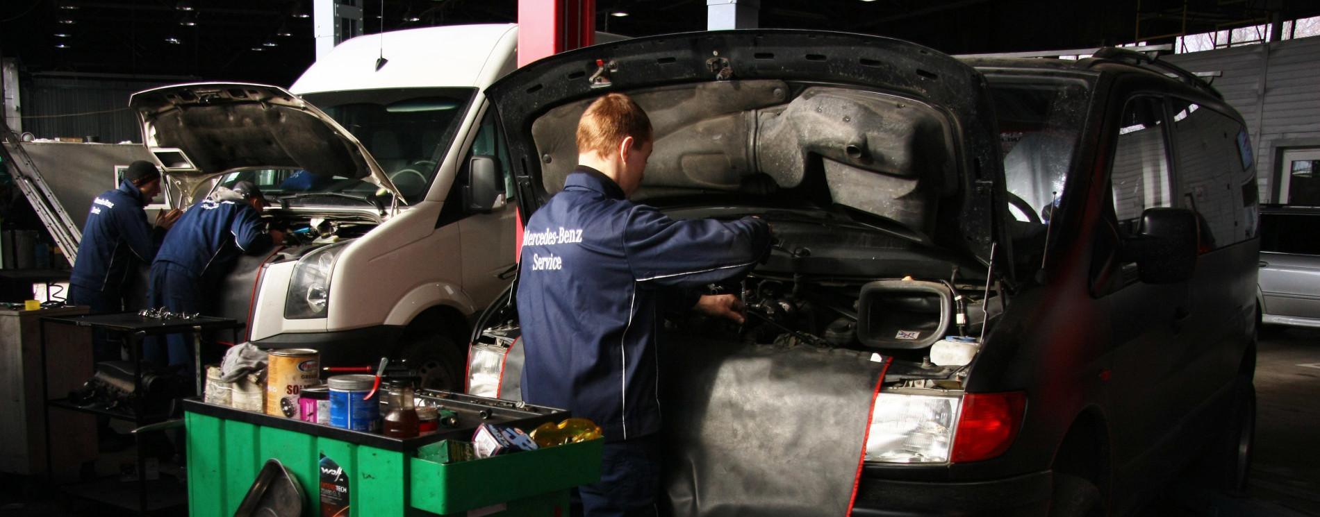 СТО в Харькове - дизель сервис Truckmotors