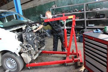 Съем дизельного двигателя на X Motors